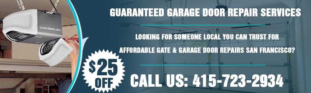 garage door opener san francisco ca